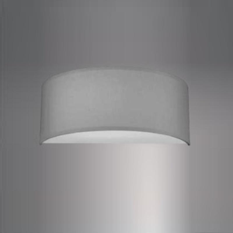 Hufnagel LED-Wandleuchte Alea Chintz-Schirm hal...