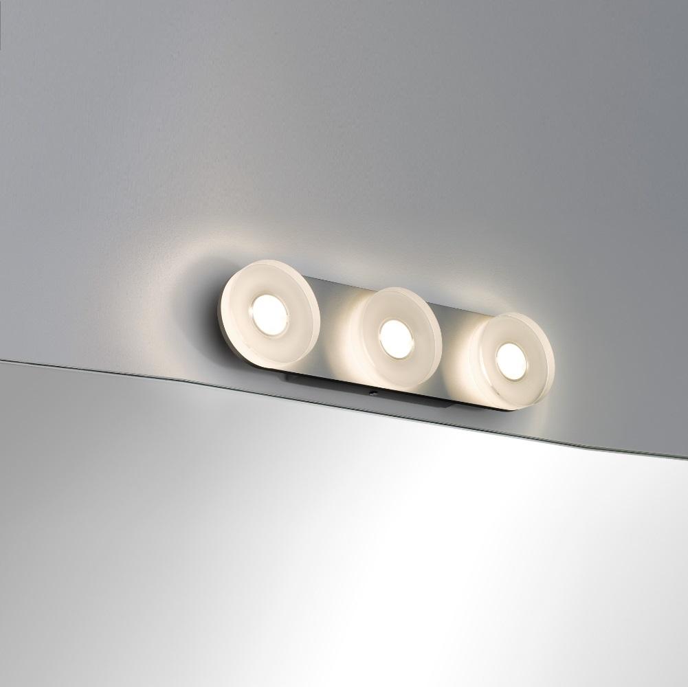LED-Wandleuchte aus rostfreien Materialien, mit IP-Schutz inklusive 13,5 Watt  LED, 3000 K warmweiß