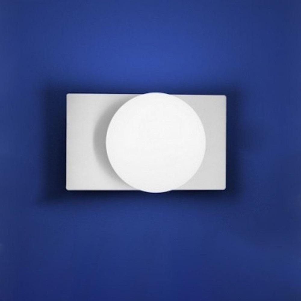 LED-Wandleuchte Luna mit Schalter