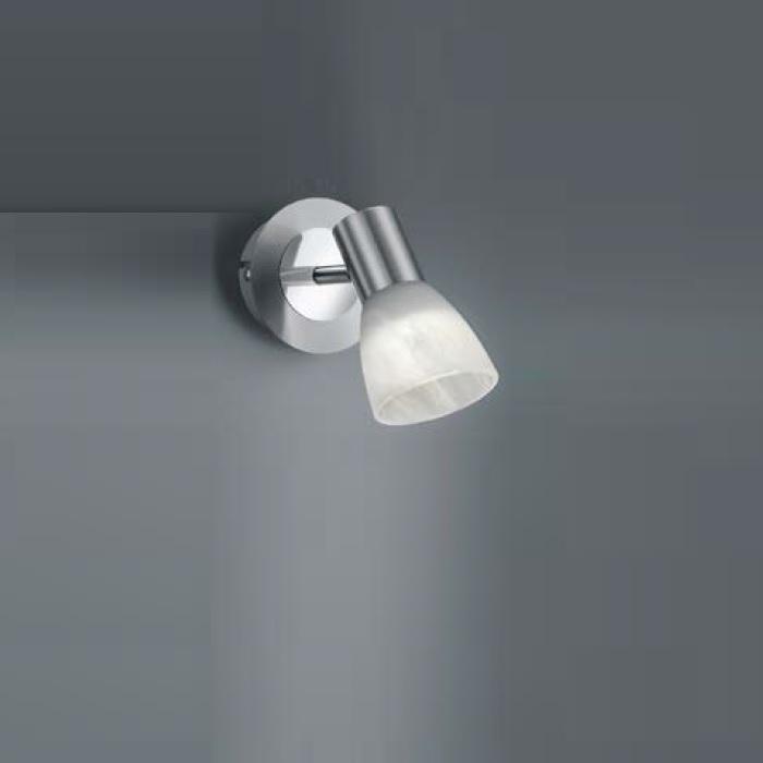 Trio LED-Wandstrahler Levisto 1-flammig, Nickel...