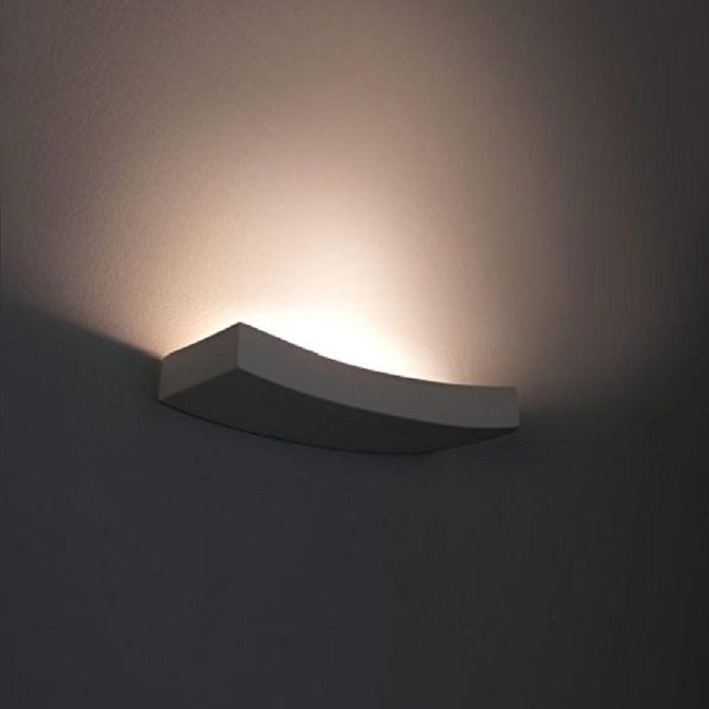 Leuchte Torino Gips weiß natur anstreichbar