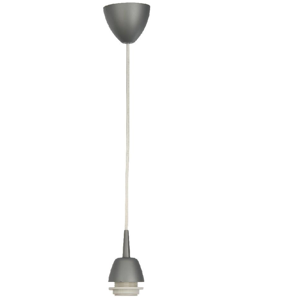 Leuchtenpendel, ohne Schirm, E27 Fassung für LED-Leuchtmittel