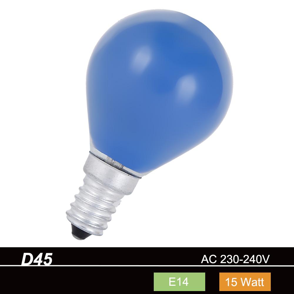 ETT VERSAND Leuchtmittel D45 Tropfen 15 W E14 i...