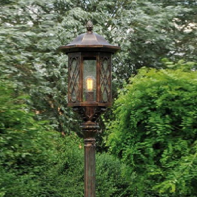 Robers Leuchten Mastleuchte Laterne Schmiedeeisen Handgefertigte Gartenleuchte Al6724