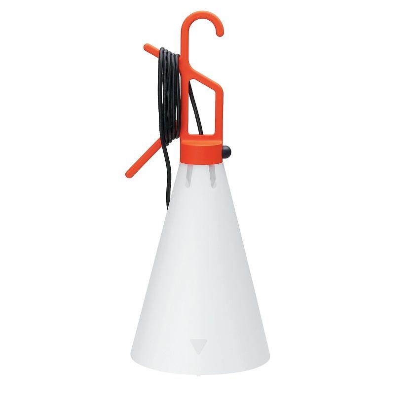 FLOS Mehrzwecklampe May day von Flos - Haltegriff in Orange May day orange/weiß F3780002 | Bad > Bad-Accessoires > Haltegriffe | Orange | FLOS