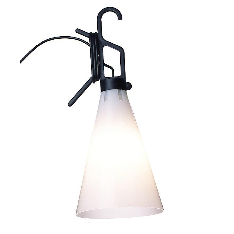 FLOS Mehrzwecklampe May day von Flos - Haltegriff in Schwarz May day schwarz/weiß F3780030 | Bad > Bad-Accessoires > Haltegriffe | Orange | FLOS