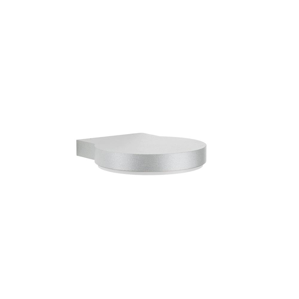 Albert Modern designte LED-Wandleuchte in silbe...