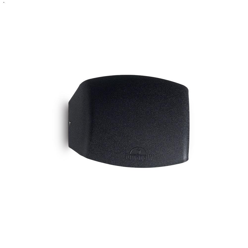 Moderne Wandleuchte Abram - klein schwarz  - 4,5W