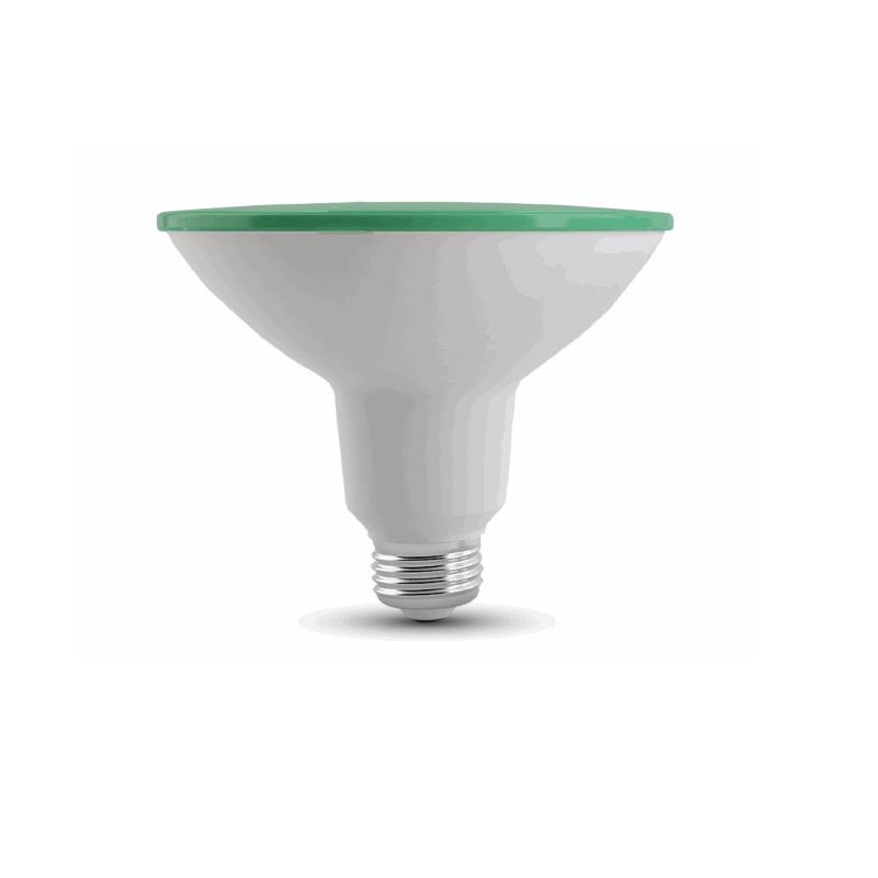 PAR 38 LED E27  in der Lichtfarbe Grün