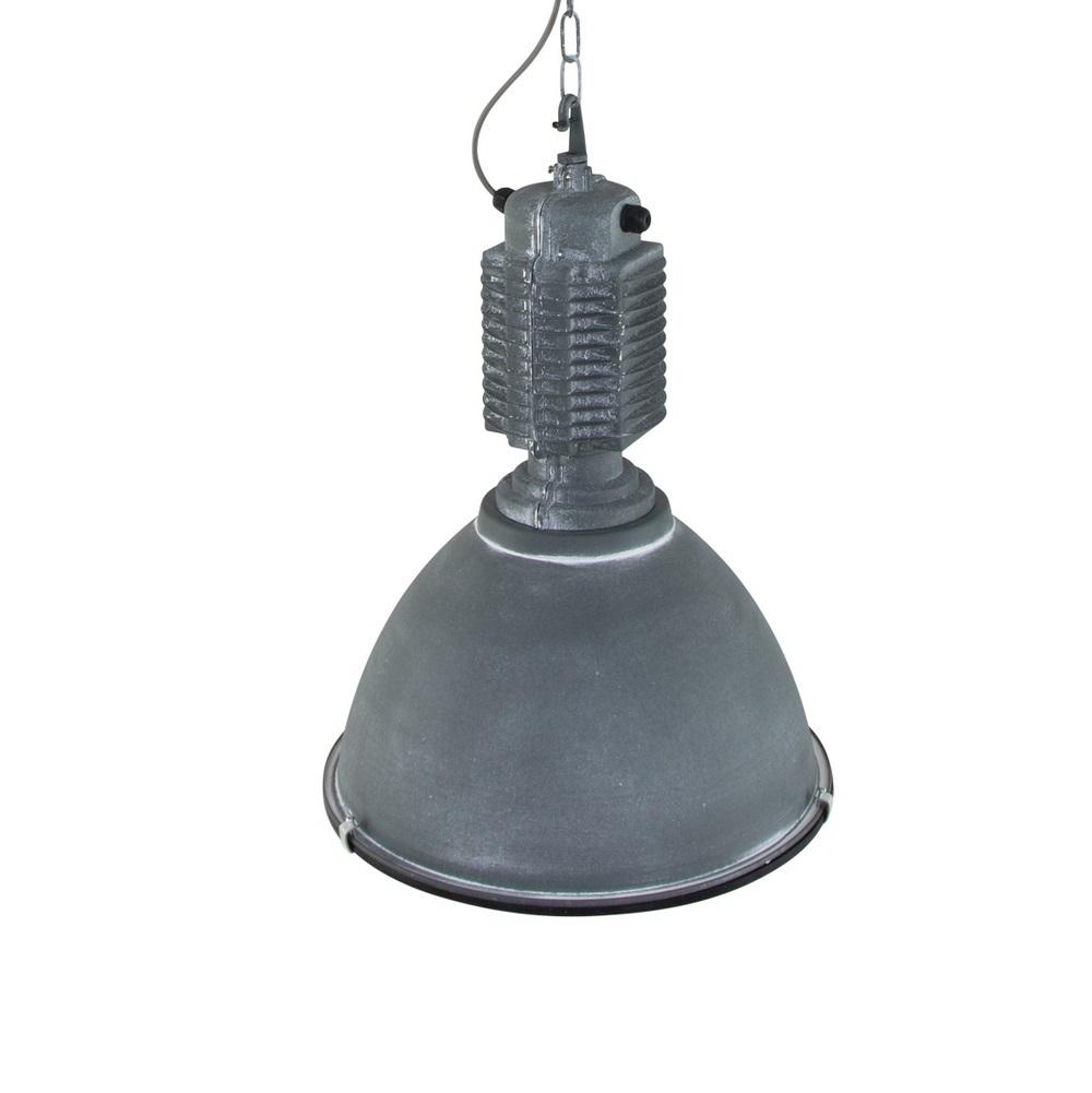 Pendelleuchte Industrial Stil Ø47cm Metall grau