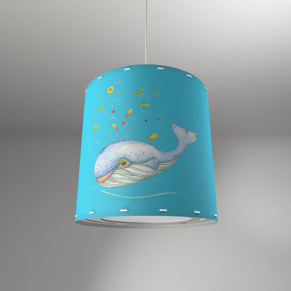 Pendelleuchte, Kinder, Wal, Unterwasserwelt, D= 20 o. 32 o. 48cm