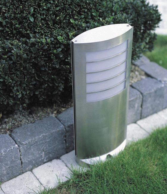 Philips Pollerleuchte aus Edelstahl für Energiesparlampe 01727/01/47 | Lampen > Leuchtmittel > Energiesparlampen | Weiss | Kunststoff - Glas | Philips