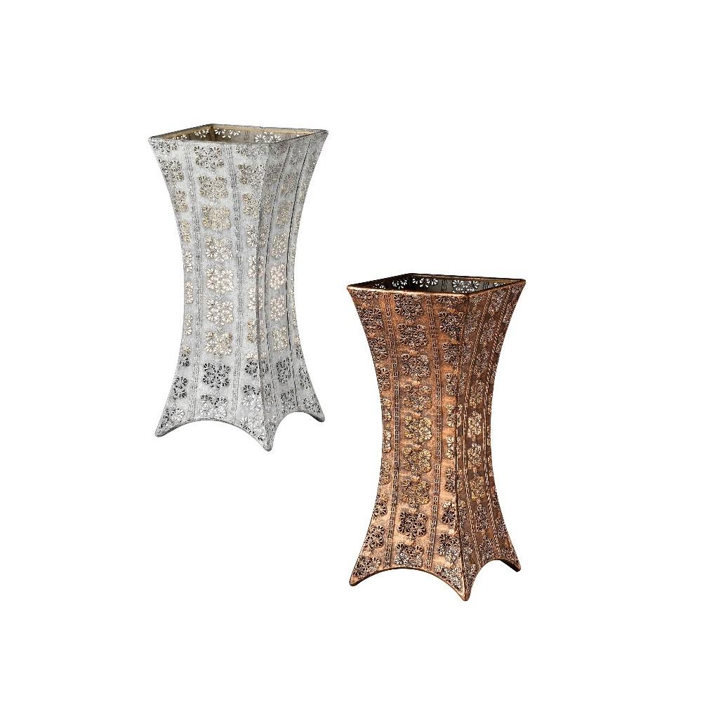 Retro-Tischleuchte aus Metall im Vintage-Stil