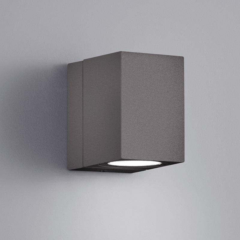 Trio Schwenkbare LED-Aussenwandleuchte Tiber in Anthrazit Tiber 1x 3 Watt, anthrazit 229160142   Lampen > Aussenlampen > Wandleuchten   Weiß   Aluminium   Trio