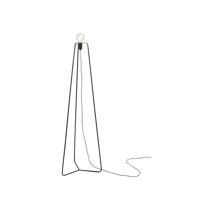 Stehleuchte Simple in Schwarz