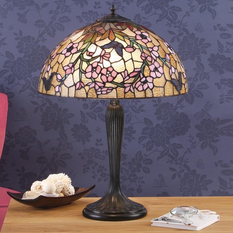 Tischleuchte Fleurette im Tiffany Stil