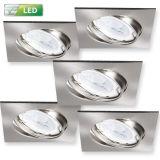 Led Einbauleuchten Und Einbaulampen Wohnlicht