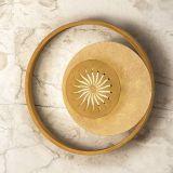 elfenbein/gold, 30,00 cm