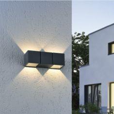 Up & Down LED-Außenleuchte Marcel in anthrazit oder weiß