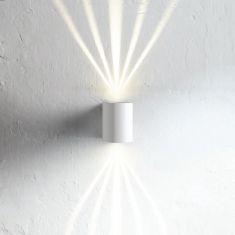 Up & Down-LED-Außenwandleuchte Canto, verschiedene Oberflächen