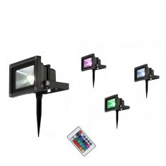 10W LED Flutlicht Gartenstrahler Radiator V