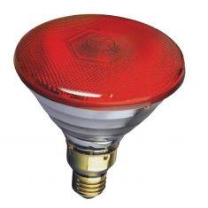 PAR 38, Preßglaslampe, 80 Watt in gelb, blau, grün oder rot, flood 30°