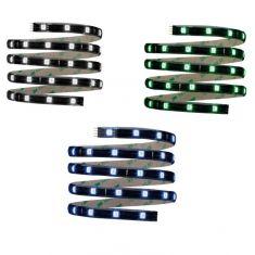 1,5 Meter LED-Stripe Basic Set Inkl. Fernbedienung, 14,4W