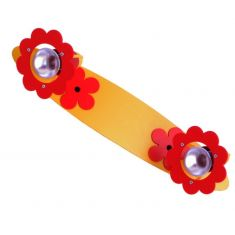 2-flammige Kinder Lichtleiste Blüte in rot/gelb