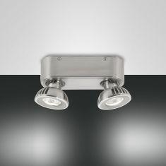 2-flammiger LED-Deckenspot Soul, 2 Farben