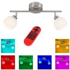 2fl.LED Deckenbalken Lola Lotta mit RGB und CCT und Fernbedienung