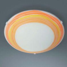 Wand-/Deckenleuchte orange
