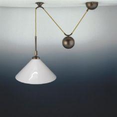 antike zugpendelleuchten zugpendellampen wohnlicht. Black Bedroom Furniture Sets. Home Design Ideas
