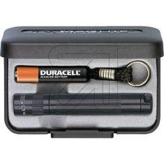 Mag Lite Taschenlampe Solitaire schwarz verstellbar von Spot auf Flood inkl. Geschenketui und 1x Micro Batterie AAA