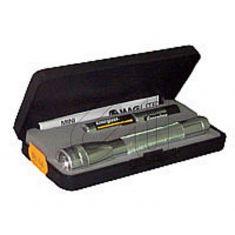 Mag Lite Taschenlampe Mini titan 393530 verstellbar von Spot auf Flood inkl. Geschenketui und 2x Mignon Batterie AA