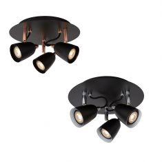 3-flammiger LED-Strahler Ride von Lucide