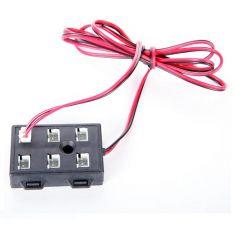 LED Verteiler 6-fach 12V DC, Kabel 100cm