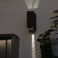 LED-Up and Down Außenwandleuchte - mit 2 x 3 Watt LED