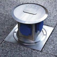 4-fach Energieverteiler - versenkbar und befahrbar