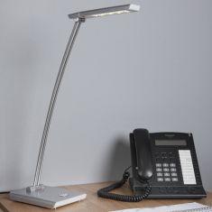 LED-Schreibtischleuchte mit Dreistufenschalter, 4, 10 oder 20 LEDs schaltbar, inklusive 4,8Watt LED