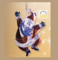 LED Weihnachtsbeleuchtung für Innen, Batteriebetrieb, 2 Motive wählbar