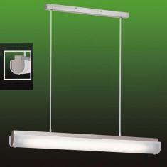 Moderne Pendelleuchte mit  weißem Glas