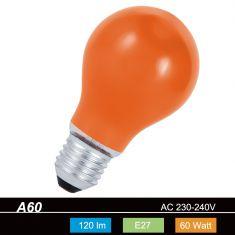 A60 AGL 60 W  E27 Classic A  in Orange, Blau, Grün, Gelb