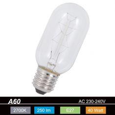 A60 AGL Rustika E27, 40 Watt 1x 40 Watt, 40 Watt, 250,0 Lumen