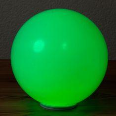 Akku Außenkugel Sun Shine mit LED RGBw, Oberfläche glatt, 4 Größen
