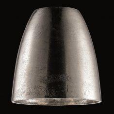 Aluminiumschirm in Nickel antik  zur Pendelleuchte zum 2-Phasen Hochvolt-Schienensystem - Ø21cm  Höhe 21cm
