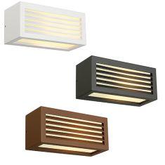 Up and Down Außenwandleuchte mit tollem Beleuchtungseffekt, Leuchte in Anthrazit, Rostfarben oder Weiß lieferbar