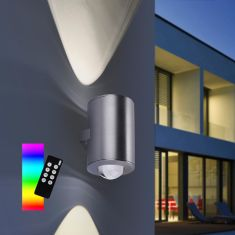 Up and down LED Wandleuchte Q®-Sascha Smart Home, ZigBee kompatibel