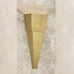 Attraktive Wandleuchte - Höhe 50 cm - 3 Oberflächen
