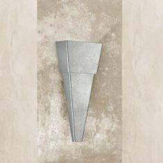 Attraktive Wandleuchte - Höhe 38 cm - 3 Oberflächen