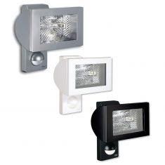 Außen-Halogenstrahler mit Sensor inklusive Leuchtmittel - drei Farbausführungen